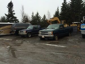 2 Chevys pickups for sale