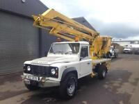 2008 Land Rover defender 130 2.4TDCi Gardner Denver Cherry Picker / Access Lift
