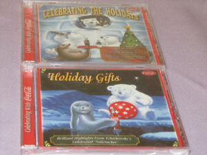FOR SALE 2 NEW COCA COLA CHRISTMAS CD'S HOLIDAY GIFTS-CELEBRATIN