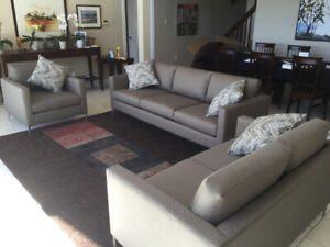 Brentwood 3 piece Living room set (new)