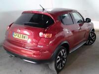 2013 NISSAN JUKE 1.5 dCi N Tec 5dr [Start Stop] SUV 5 Seats