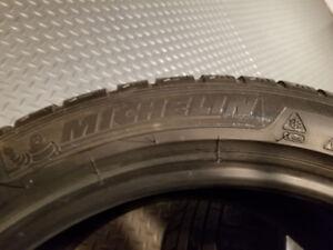 winter tires  Michelin Pilot Alpin PA2 255 40 18
