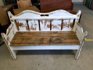 Bench for sale at Country Market in Dundas