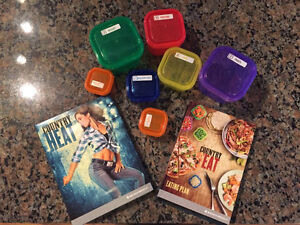 Beachbody Country Heat DVDs with Portion Control Containers