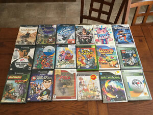 A Few Used GameCube, Wii, PS3, XBOX and XBOX 360
