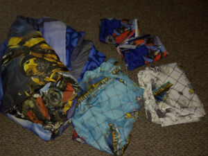 FULL SIZE, TRANSFORMERS, BEDDING SET