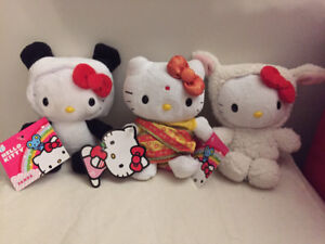Adorable Hello Kitty Plush - brand new with tags
