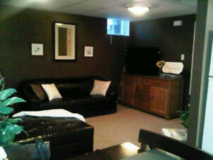 Whitby One Bedroom Basement Apartment available October 1st