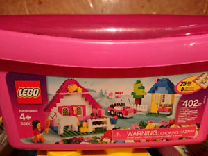 Lego Creator 5560 Large Pink Brick Box - As-is