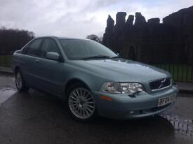 2004 (04) Volvo S40 1.8 2004MY Classic SE ** FULL LEATHER ** FULL HISTORY **