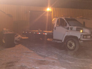 2004 C5500 Chevy flatbed tow truck