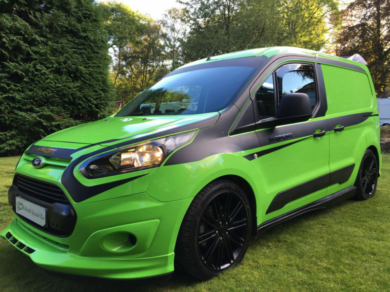 2016my ford transit connect 1 6tdci 200 custom rs green m. Black Bedroom Furniture Sets. Home Design Ideas