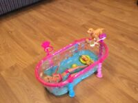 Barbie and swimming pool set
