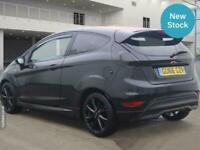 2016 Ford Fiesta 1.0 EcoBoost 140 ST-Line Black 3dr HATCHBACK Petrol Manual