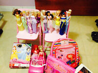 PRINCESS,DOLLS,CAR,CHAIRS,SUITCASE,PUZZLE,SMOKE,PET FREE HOME