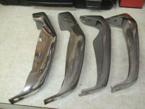 1969 chevelle bumper guards front and rear