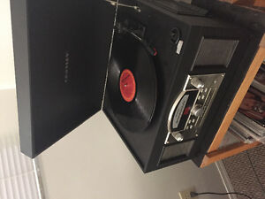 5 in 1 turntable stereo