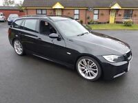 2007 BMW 320i MSPORT PETROL TOURING ESTATE PX CASH EITHER WAY R32 X5 X3 LAND ROVER ETC