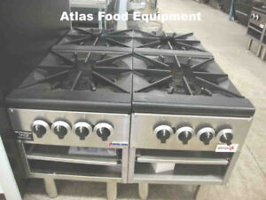 Brand new single & double gas stock pots and burners