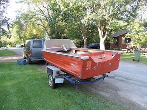 14' Springbok Boat and Trailer Project Boat Peterborough Peterborough Area image 3