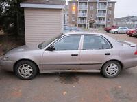 1998 Toyota Corolla Sedan