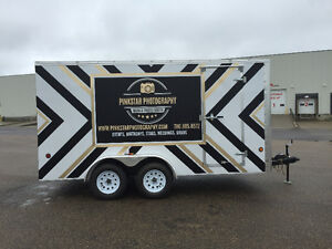 7x14 enclosed utility trailer