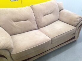 "Two seater fabric sofa ""FREE LOCAL DELIVERY """