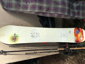 Snow board. Never used
