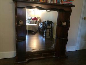 Dresser Mirror/shelves