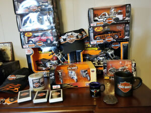 HARLEY DAVIDSON COLLECTABLES MODELS HATS ZIPPOS ETC..$325
