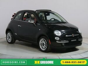 2013 Fiat 500c LOUNGE CONVERTIBLE A/C BLUETOOTH