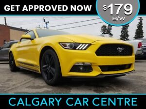 2015 Mustang $179B/W TEXT US FOR EASY FINANCING! 587-317-4200