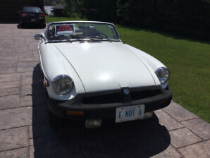 MGB 1979 Convertible For Sale!
