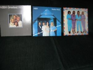 lps abba, kenny rogers, johnny mathis etc.