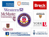 Assignment and test help services by a Waterloo PhD!