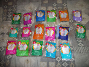 17 TY Beanie Babies Still Sealed
