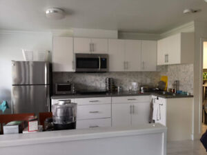 Fully furnished 1 bed suite at main level