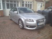 2007 Audi S3 A3 mint condition FSH Stage 1 remap hpi clear