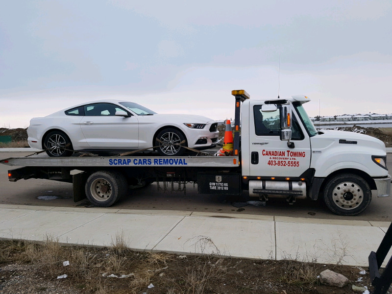 CASH FOR YOUR JUNK CARS, FAST TOW 403 852 5555 | Towing & Scrap ...