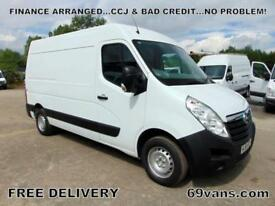 VAUXHALL MOVANO MWB, ## 64-REG ## F.S.H., 1 OWNER, CHOICE OF 5 IN STOCK!!!!