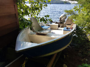 14 foot Princecraft Fisherman LX with 9.9hp