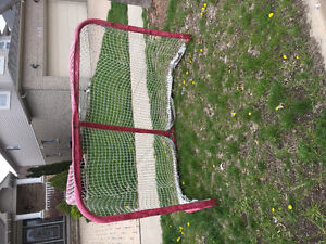 Heavily used hockey net. Free for pick up