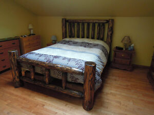 hand crafted timber or log beds,locally based Comox / Courtenay / Cumberland Comox Valley Area image 3