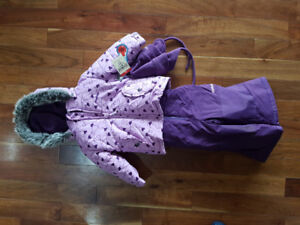 Carters Girls Winter Jacket, Pants and Hat 18 months