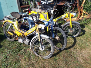 NO ROOM ALL TOYS PRICED TO SELL! MOPED,3 WHEELERS, MOTOR BIKES