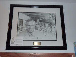 Ron Mclean Signed Print