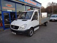 2013 MERCEDES SPRINTER 313 CDI LWB 14FT FLAT BED DROP SIDE DROPSIDE DIESEL