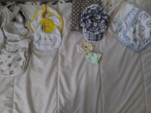 NB - 3 MONTH LOT OF NEUTRAL & BOY CLOTHING
