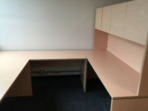 OFFICE FURNITURE DESKS CHAIRS PEDESTALS CREDENZAS AND MUCH MORE