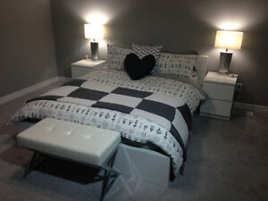 4 Piece Ikea Malm Bedroom Suite + Free Mattress!
